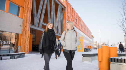 Students at VAMK.